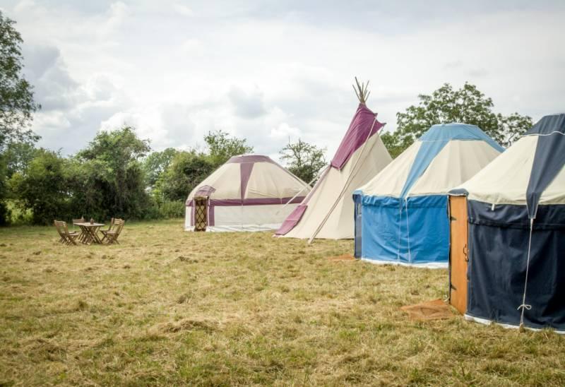 Yurt Camp East, Gordon's Field