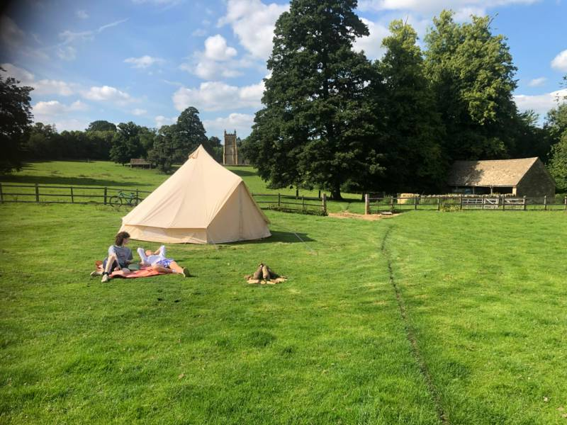 Cricket Field Campsite Temple Guiting Road, Temple Guiting, Kineton, Gloucestershire GL54 5RW