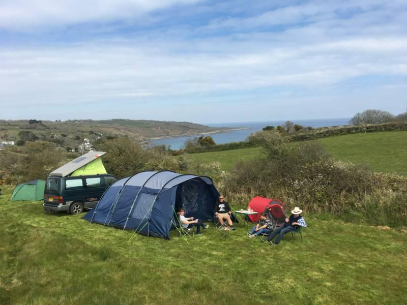 Coverack Camping Penmarth Farm, Coverack, Cornwall TR12 6SB