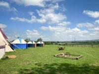Pilton Yurt Camps- Gordon's Field West