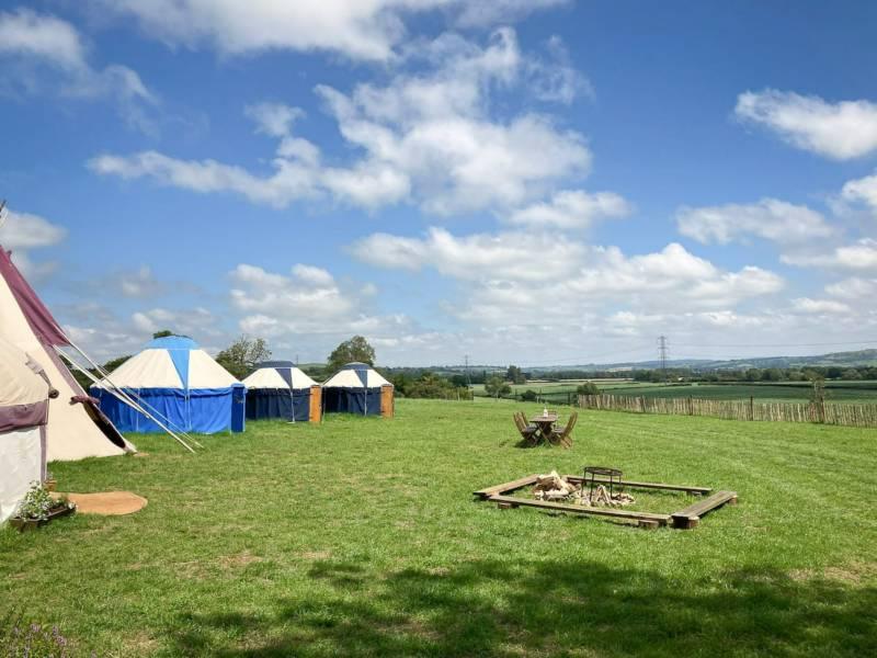 Yurt Camp West, Gordon's Field