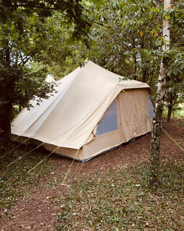 Touareg Tent Family