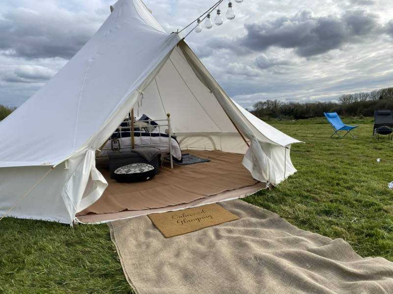 5m Deluxe Bell Tent - Family Friendly