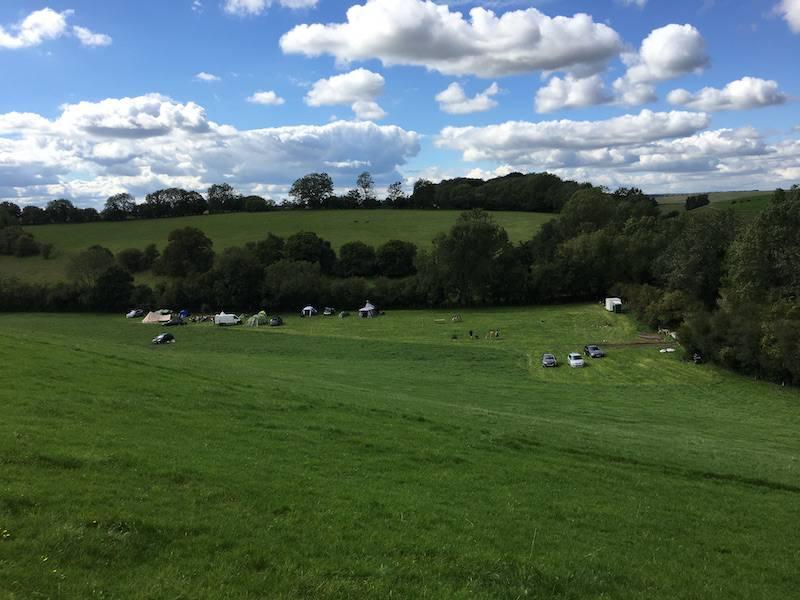 T Barn Camping