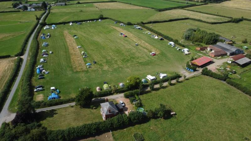 Elmwicke Camping Red House Farm, Copse Green Lane, Hardwicke, Cheltenham, Gloucestershire GL51 9TB