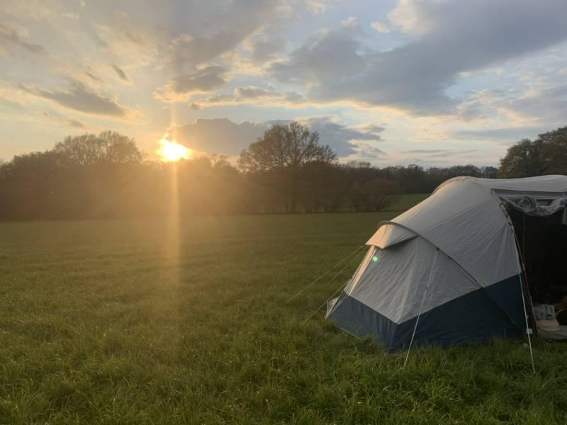 Farley Camping Parsonage farm, Farley, Wiltshire SP5 1AN