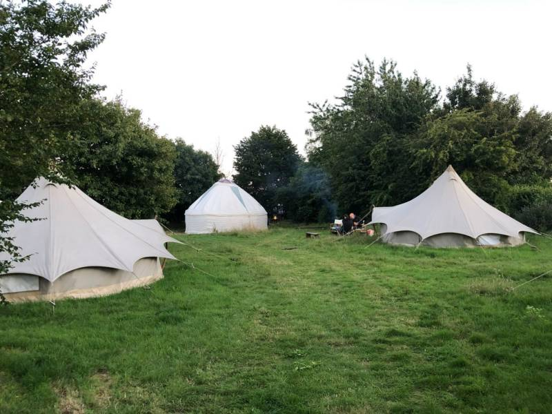 Be Wilder Camps Redwood Rare Breeds, Station Road, Wanstrow, Shepton Mallet BA4 4SZ