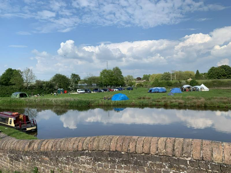Great Haywood Canalside Campsite