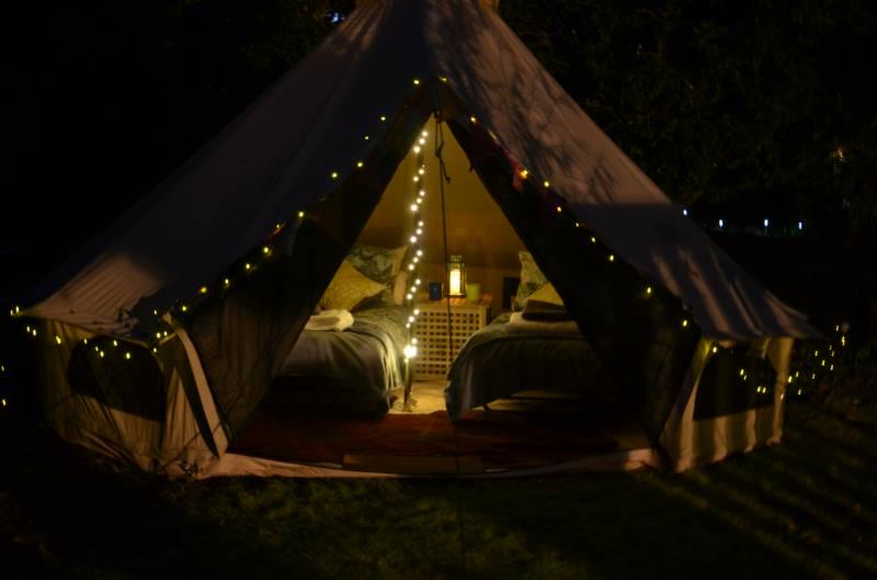Orchard Yurt + Bella Bell Tent
