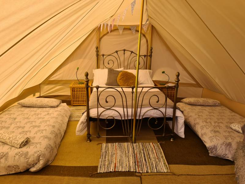 New for this season 5m Pyramid bell tent