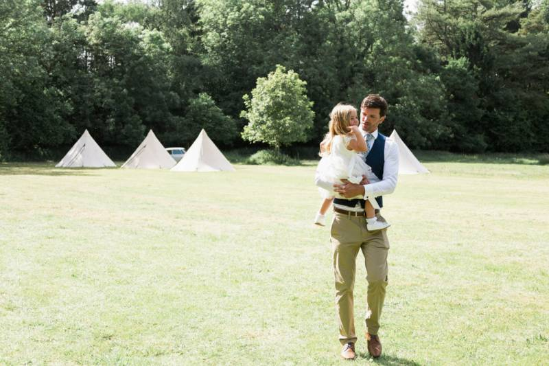 Bell Tent for Wedding Guests only