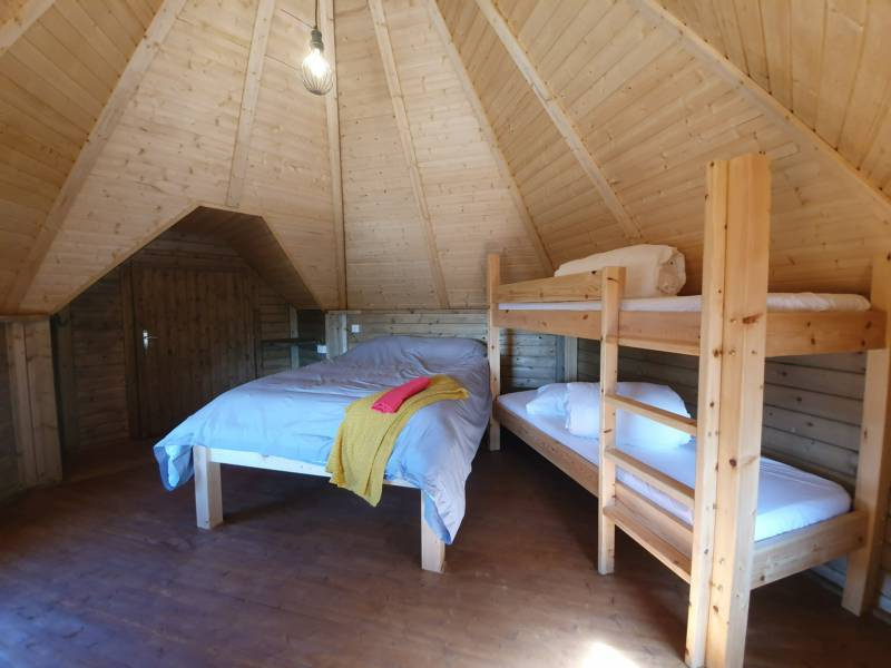 Field Mouse Cabin - new ensuite