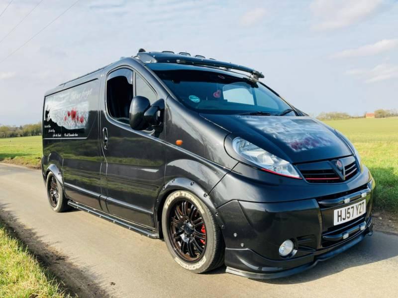 Poppy - Vauxhall Vivaro Sportive