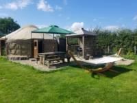Meadowsweet Luxury Yurt (en suite)