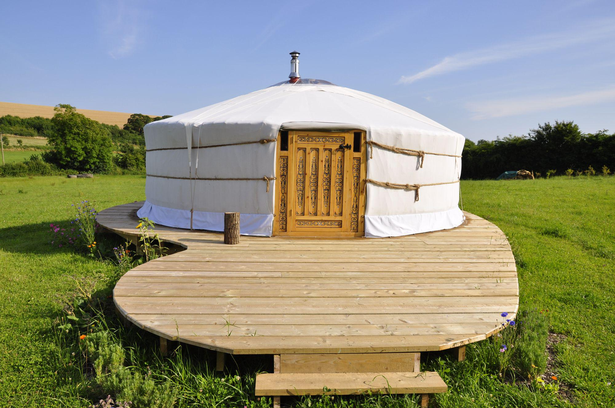 Green Valley Yurts, Dorset