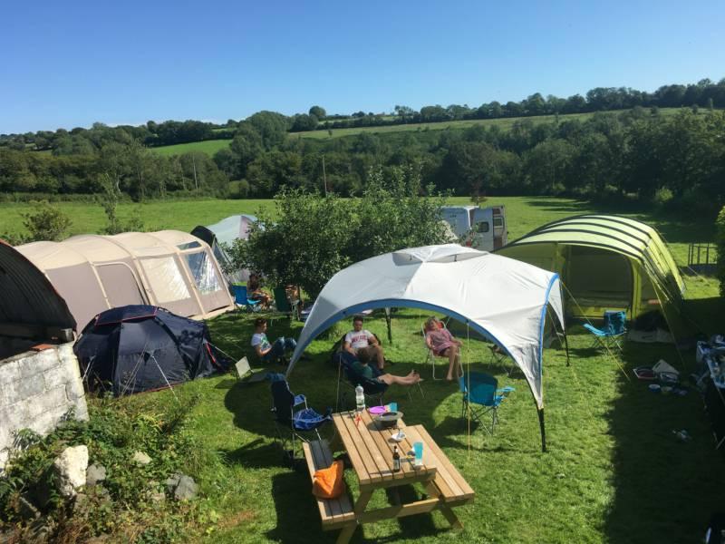 Cwmorgan Camping Llwyneinon Uchaf, Capel Iwan, Newcastle Emlyn, SA38 9LY