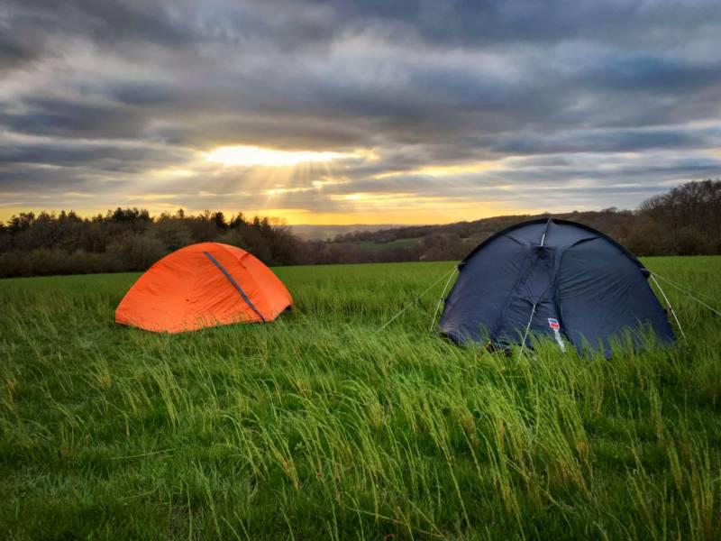 Glassenbury Camping