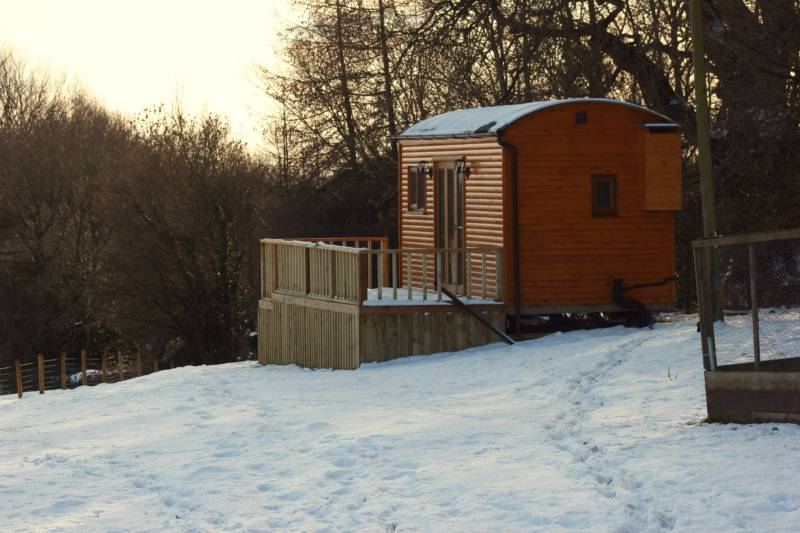 Hopton Shepherd Hut