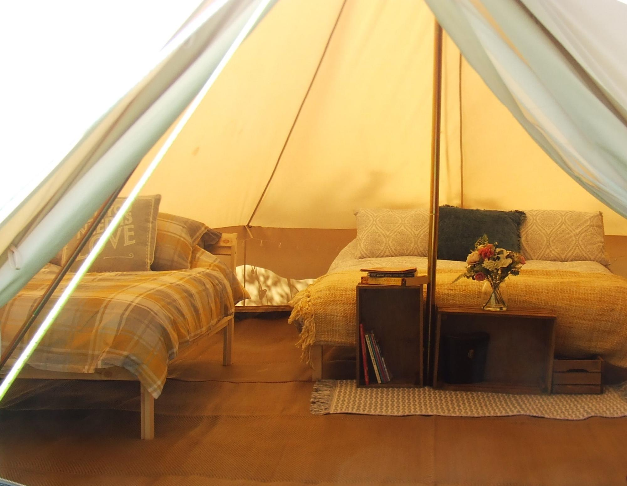Glamping in Weymouth – Cool Camping