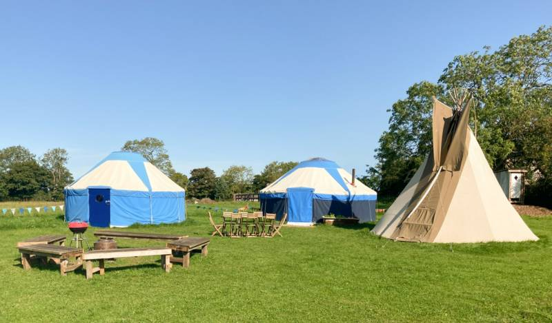 Pilton Yurt Camps Pilton Yurt Camps, Keinton Farm, East Town Lane, Pilton, Somerset BA4 4NX