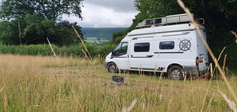 Campervan pitch (VW/Transit size)