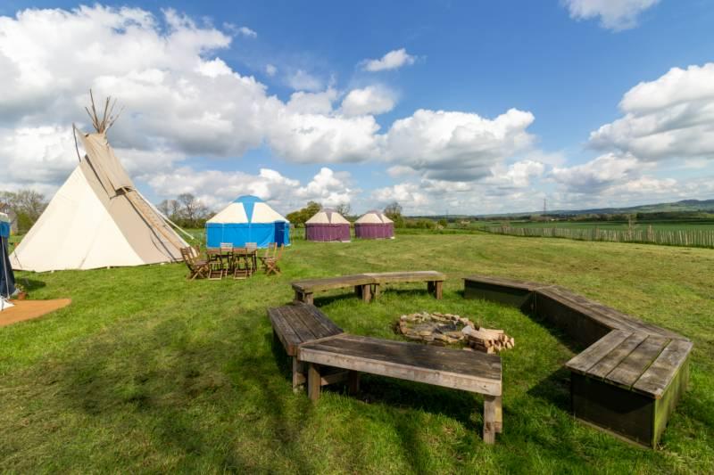 Pilton Yurt Camps Pilton Yurt Camps, Keinton Farm, East Town Lane, Pilton, Somerset BA4 4NX