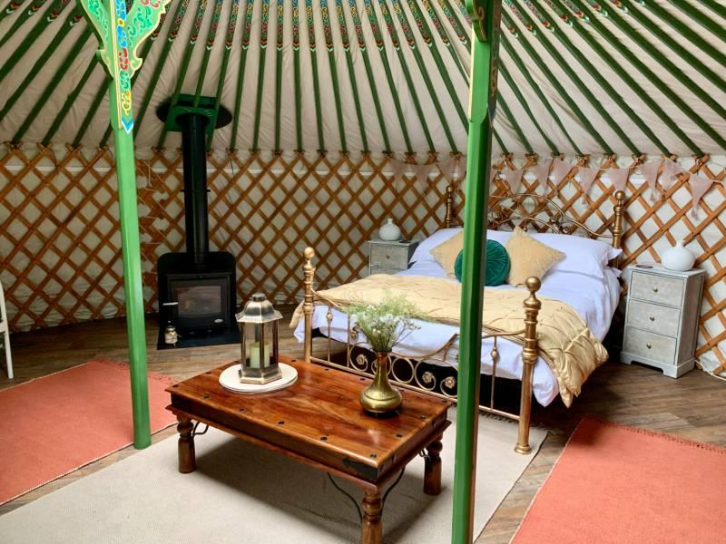 Chiltern Yurts Highover, Lukes Lane, Gubblecote, Hertfordshire HP23 4QQ