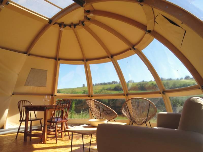 """""""Orchidée"""" Panoramic Tent"""
