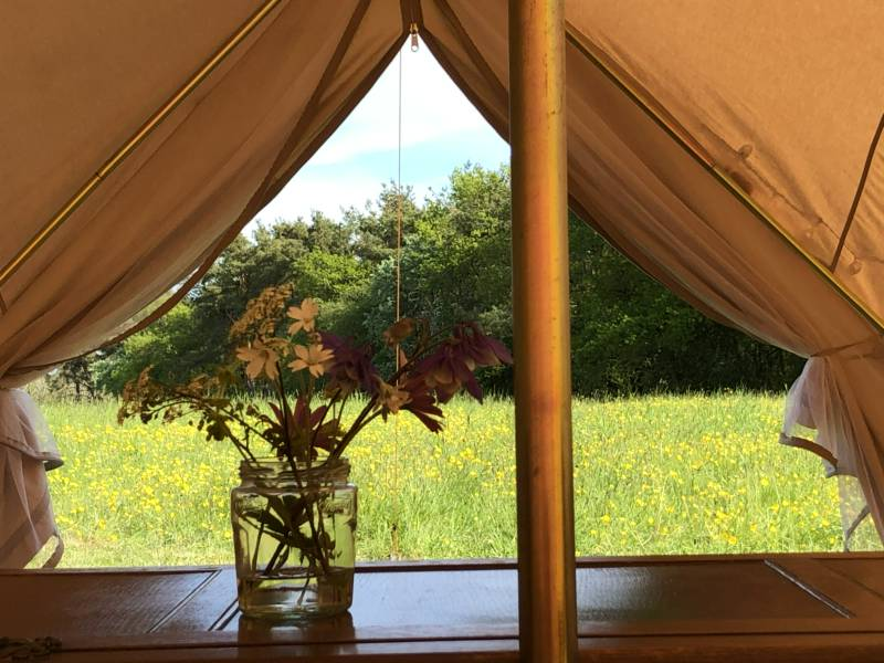 Big Skies Cotswold Glamping Wistley Heights Farmhouse, Upper Coberley, Cheltenham, Gloucestershire GL53 9RE