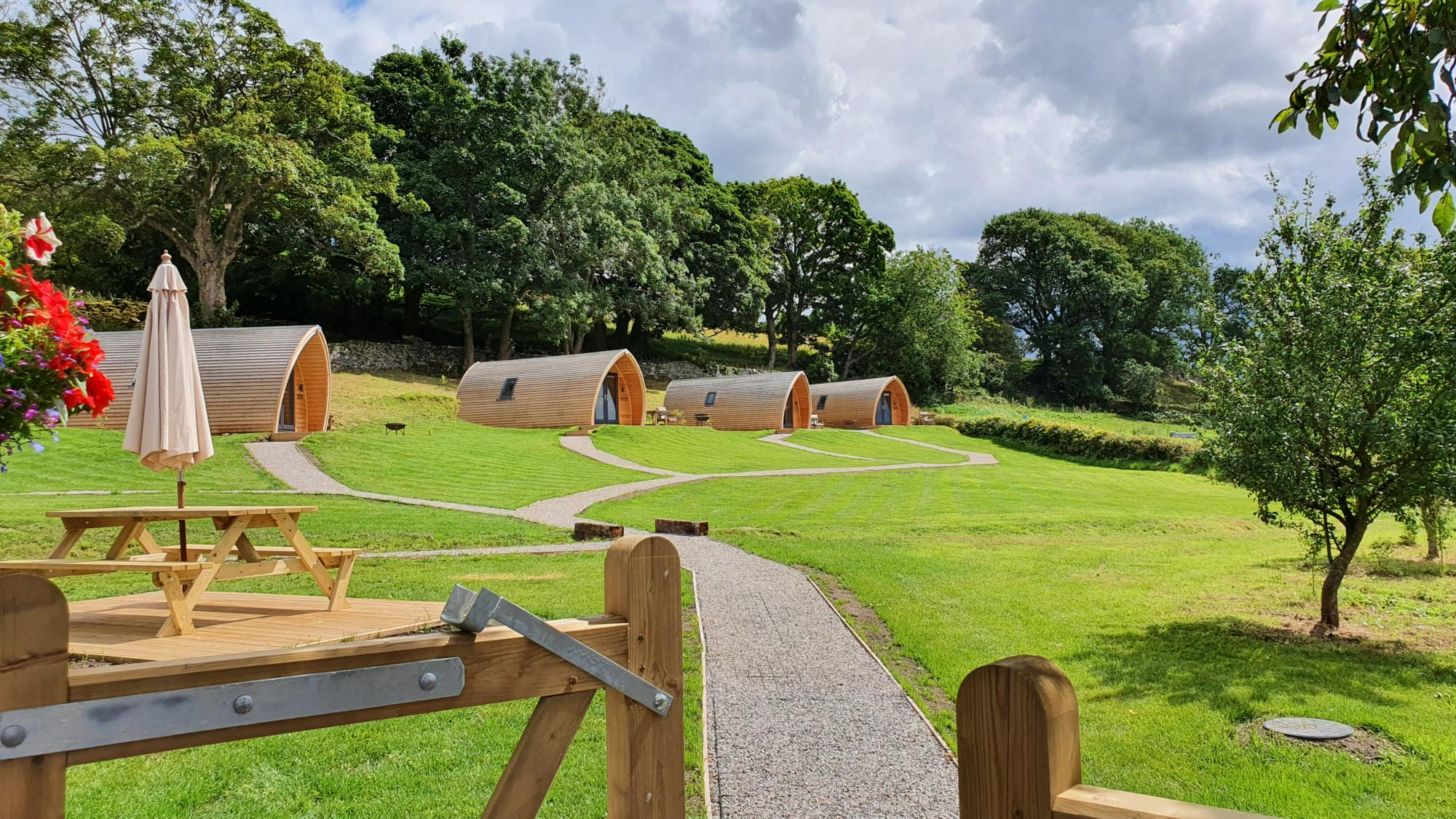 Glamping in North West England holidays at Cool Places