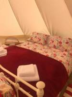 Cherry Blossom, private 6M Bell Tent