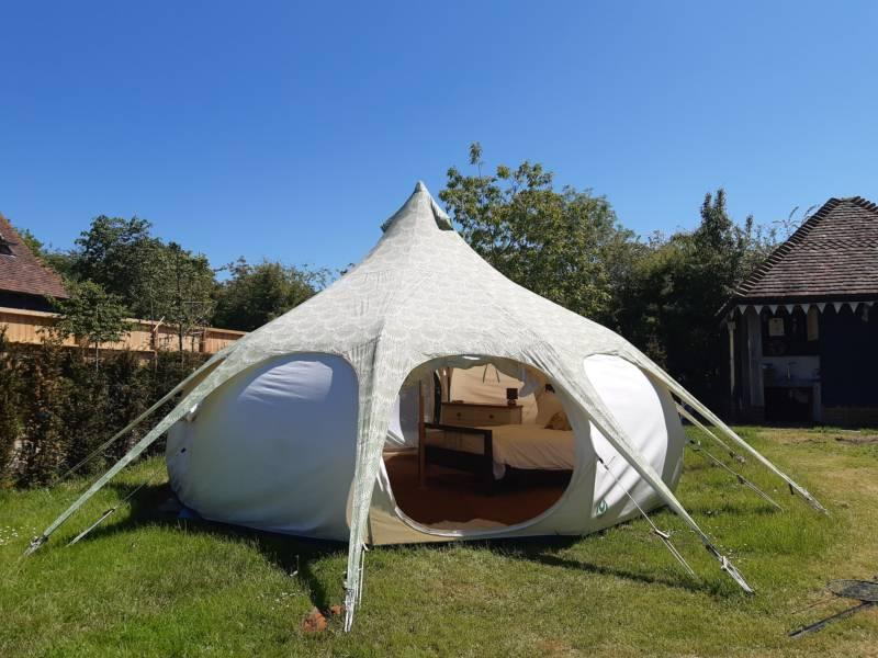 Oakwood Belle Tent at Oakwood Glamping