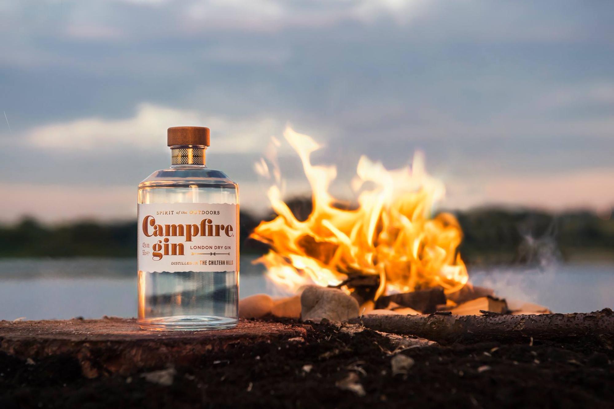 Campfire Gin Bottle