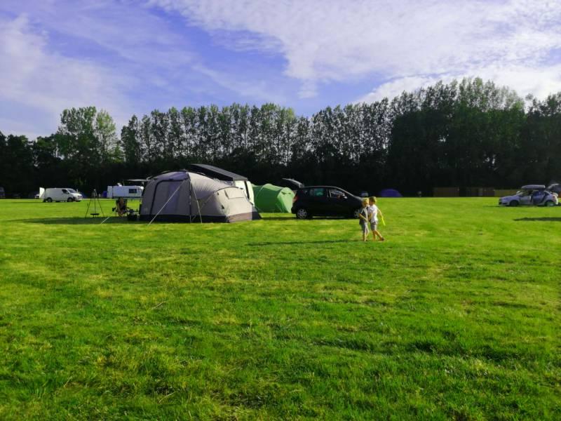 Clayford Field Campsite