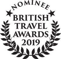 nominated for British Travel Award 2019