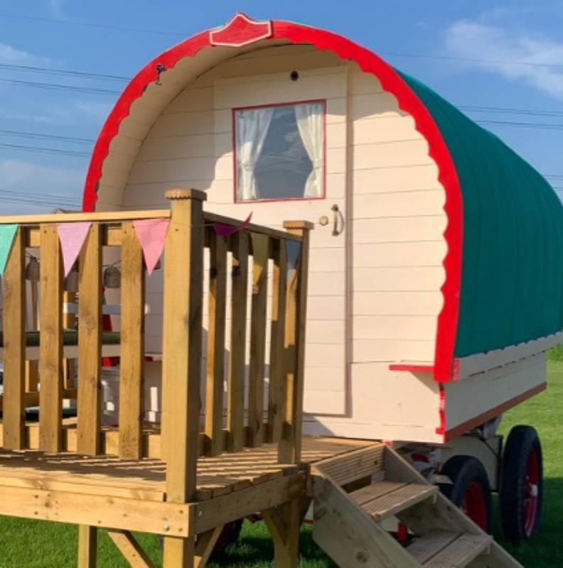 The Travellers Rest - Bowtop - sleeps 2/3