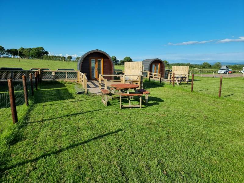 Camping at Cardewlees Cardewlees Farm, Dalston, Carlisle, Cumbria CA5 6LE