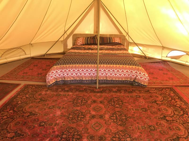 6m Bell Tent for 4