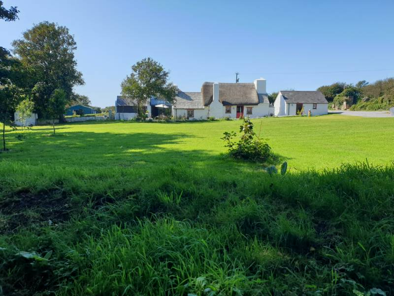 A campsite set beside one of the prettiest traditional cottages in Pembrokeshire.