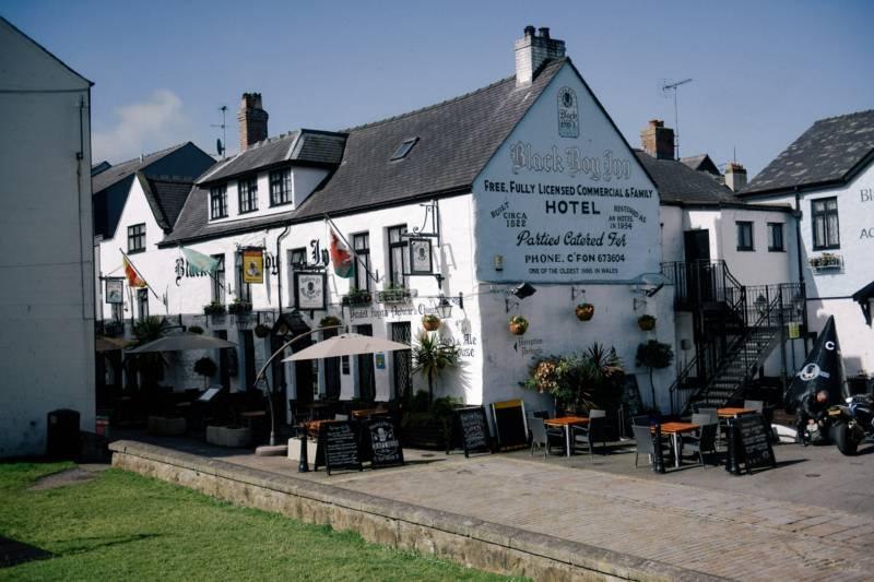 Black Boy Inn Northgate Street, Caernarfon, Gwynedd LL55 1RW