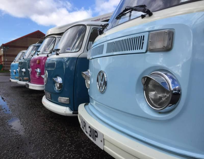 Campervan Hire in Paisley   Motorhome Rental in Paisley, Near Glasgow