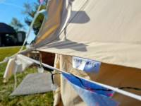 5m Bell Tent for Families or up to 5 Adults
