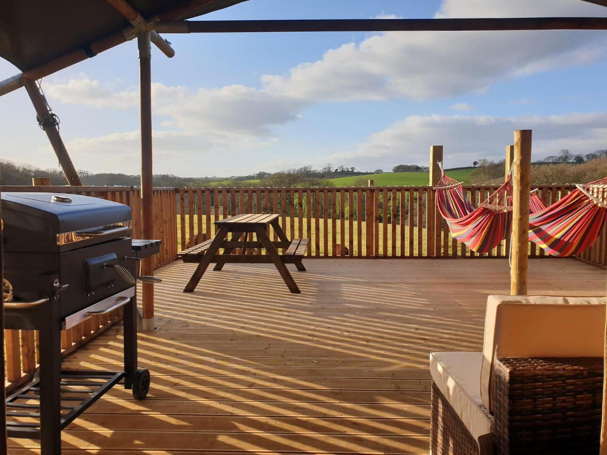 Glamping in Crediton – Cool Camping