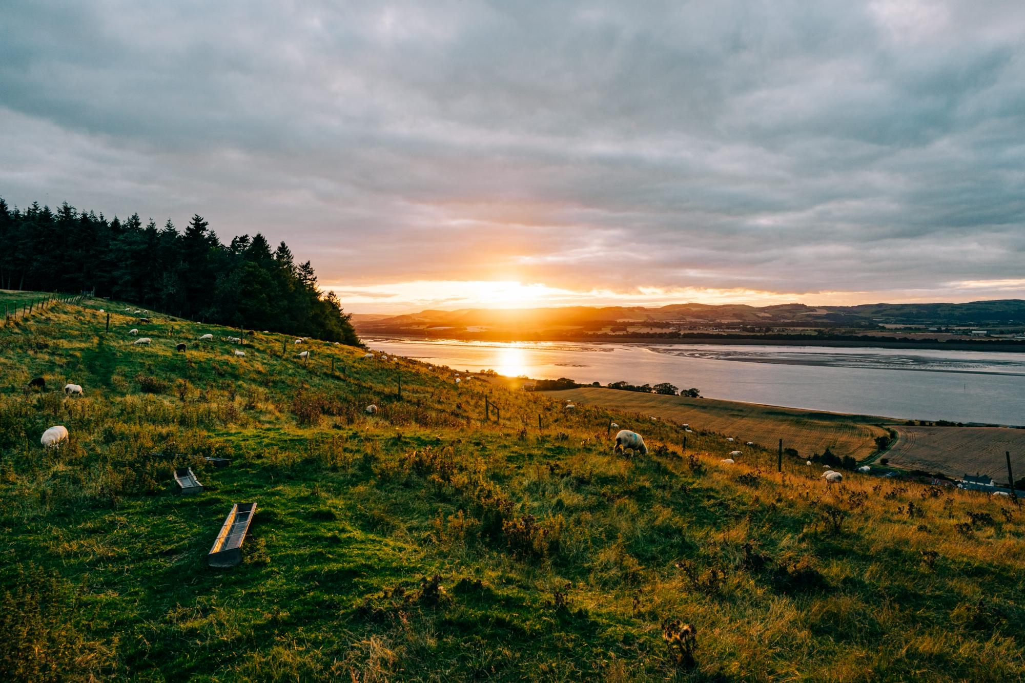 Glamping in East Scotland holidays at Cool Places