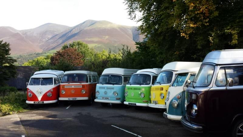 Rainbow Camper Hire Rainbow Camper Hire, Skiddaw Grove, Vicarage Hill, Keswick, Cumbria CA12 5QB