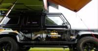 Dog Friendly Land Rover Defender Camper Betty