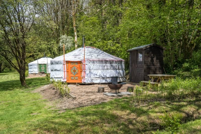 Red Kite Yurt