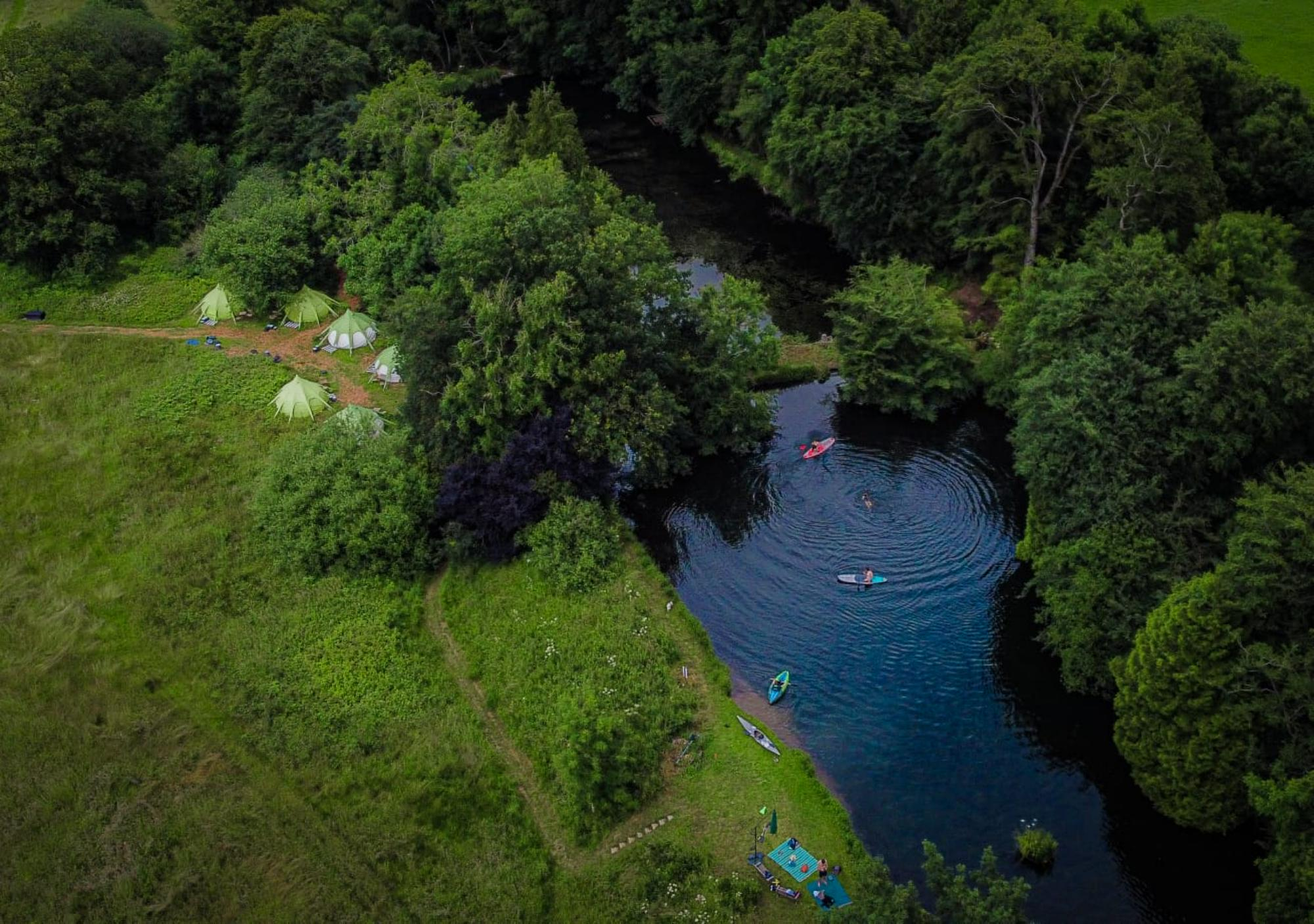 Glamping in Somerset holidays at Cool Places