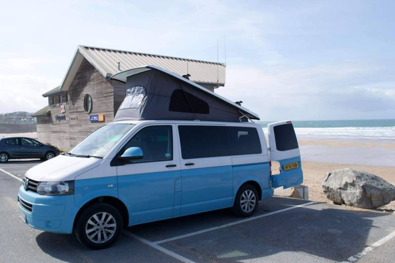 Kate's VW Campervan Hire Dukes Way, Newquay, Cornwall TR7