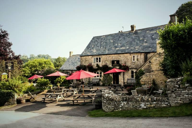 The Crown Inn Frampton Mansell, Near Stroud, Gloucestershire GL6 8JG